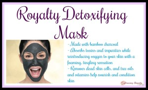 Royalty Mask Detoxifying Younique Embracing Beauty with Kim Willis