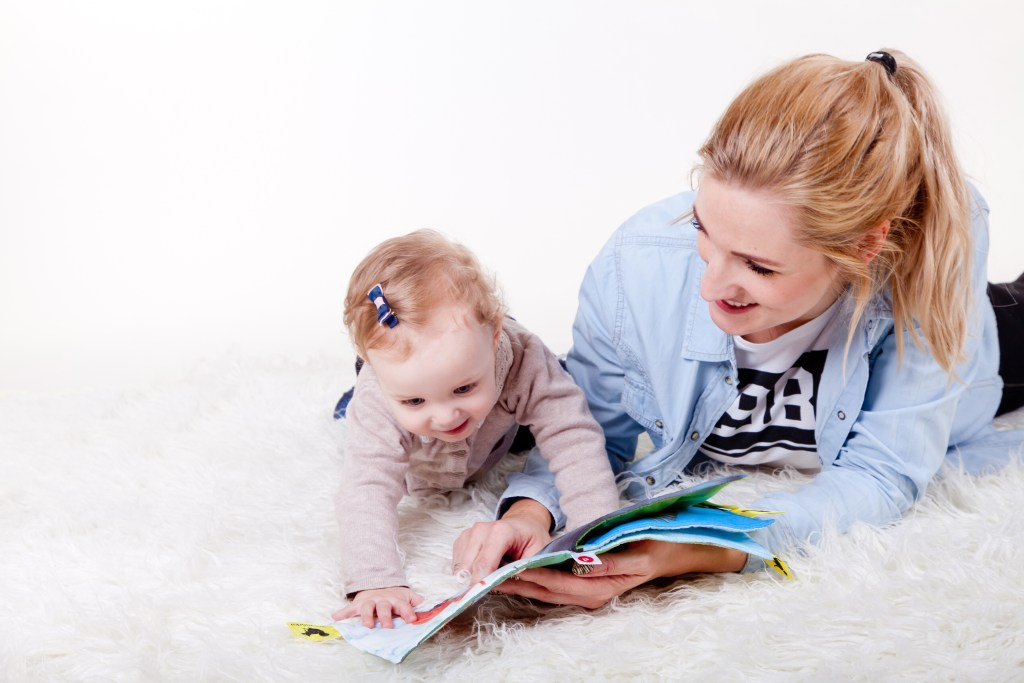 reading books toddler activities