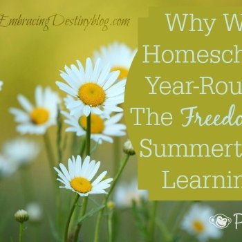 The Freedom of Summertime Learning