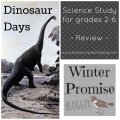 dinosaur homeschool unit study
