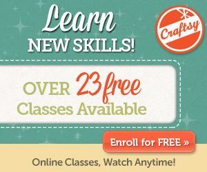 Free online classes at Craftsy