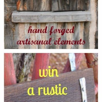 Hand-Forged Rustic Coat Rack Giveaway from NV Able Items