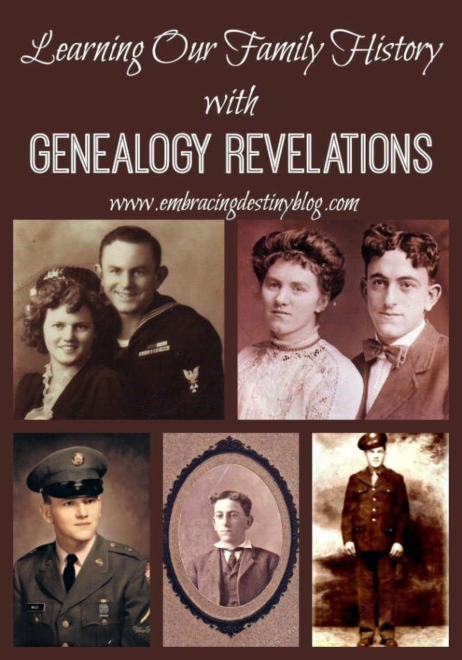 Learning our Family History with #Genealogy Revelations