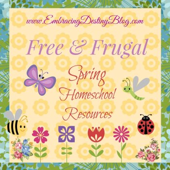 Free and Frugal Spring Homeschool Resources