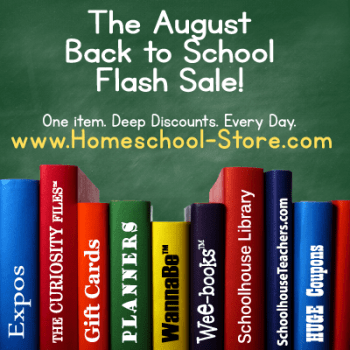 TOS August Back to School Flash Sale