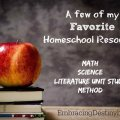 Favorite #Homeschool Resources for the elementary years