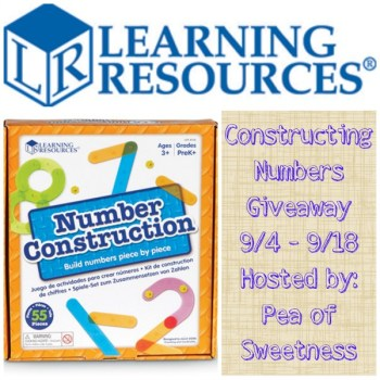 Constructing Numbers Giveaway, ends 9-18
