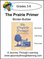 The Prairie Primer lapbook binder builder
