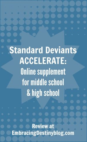 Standard Deviants ACCELERATE review @destinyblogger