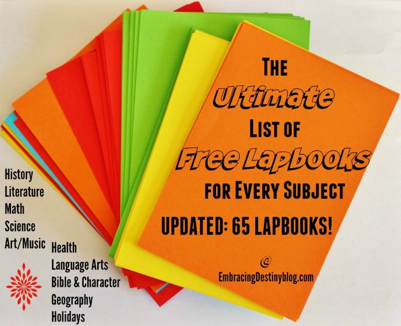The Ultimate Guide to Free Lapbooks for Every Subject