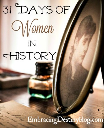 31 Days of Women in History
