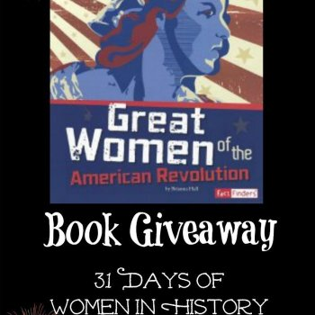 Great Women of the American Revolution book giveaway