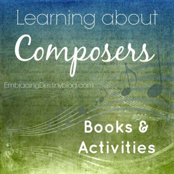Learning about Composers Books & Activities
