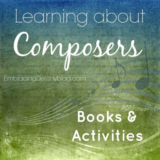 Learning about Composers book & activities + recommended resources
