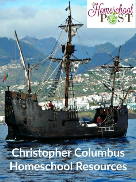Free & frugal homeschool resources to study Christopher Columbus