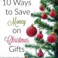 Stressed out by your budget limits? Here are 10 ways to save money on Christmas gifts this year! embracingdestinyblog.com