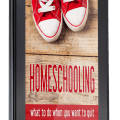 Stressed out? Burnt out? You need this book! Homeschooling: What to Do When You Want to Quit