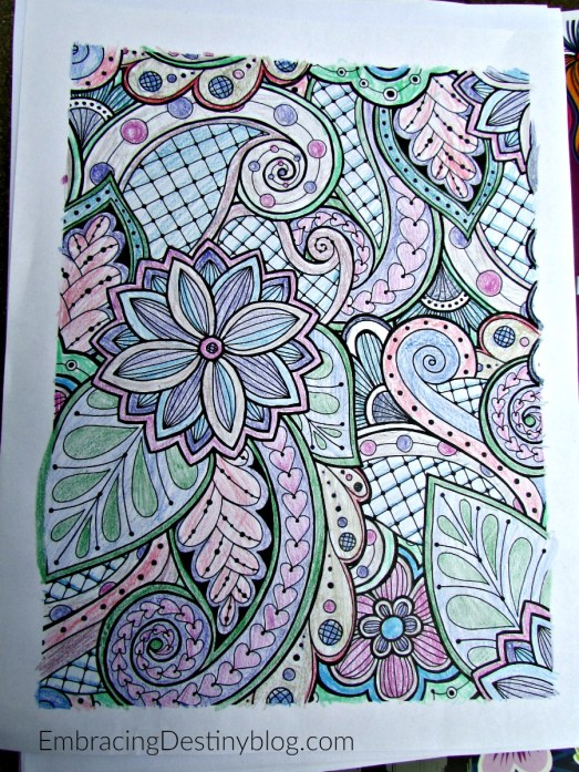 fine linen and purple coloring page