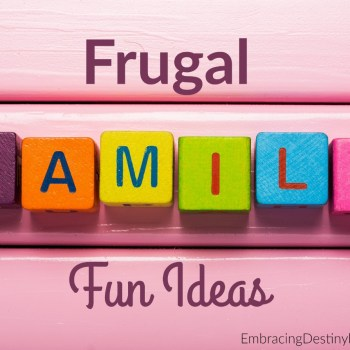 5 Frugal Family Fun Ideas