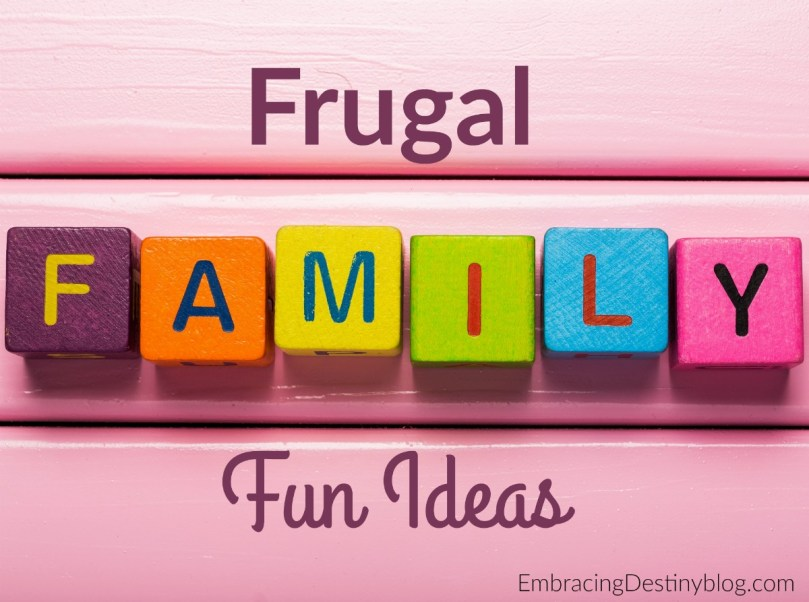 Spending time with your family is important, but finding things to do that don't burn a hole in your pocket can be a challenge. When it comes to setting a budget, it is important to stick to that budget even when with family activities. So, here are 6 activities you can do while sticking to your budget! embracingdestinyblog.com