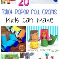 Check out these fun and frugal ideas for toilet paper roll crafts that your kids will love! Easy to do, easy on the budget. Kids will have tons of fun being creative. embracingdestinyblog.com