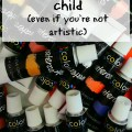 Not so artistic? Don't worry, you can still encourage your kids to be creative! Here are 7 ways to spark creativity in your homeschool. embracingdestinyblog.com