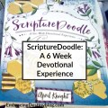 Scripture Doodle books are a creative way to do Bible study. 6 week devotional books. embracingdestinyblog.com