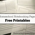 Free printable notebooking pages | homeschooling | free printables