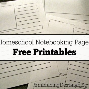 How to Start Notebooking in your Homeschool