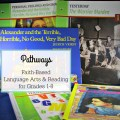 Study faith-based reading and language arts for K-8 with Pathways from Kendall Hunt RPD. Unit study approach to homeschooling.