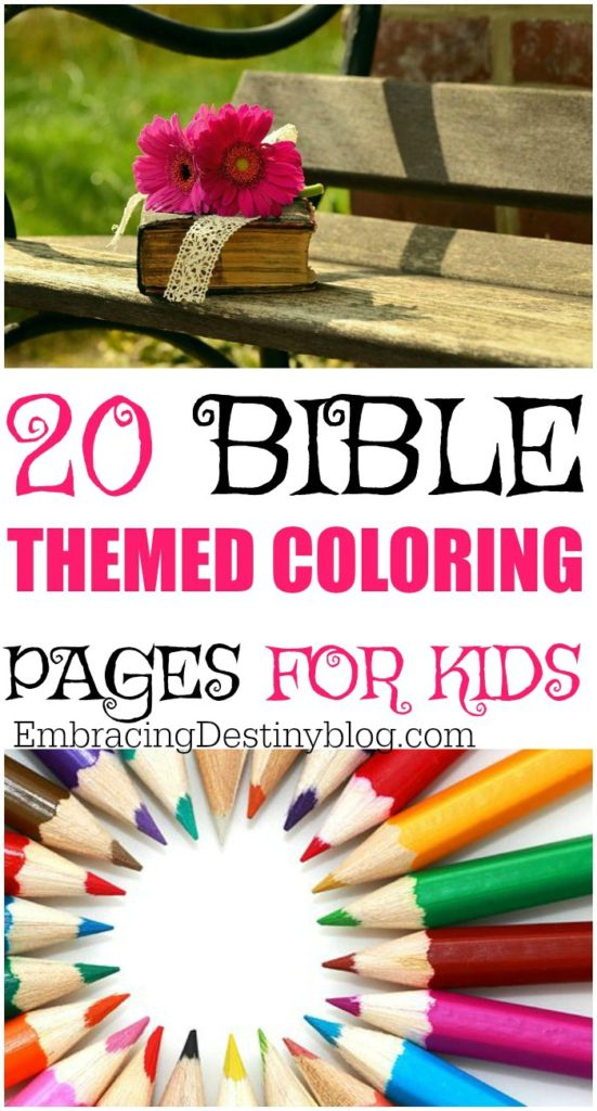 20 Bible coloring pages | free coloring pages | Bible coloring pages for kids