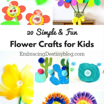20 Simple and Fun Flower Crafts for Kids
