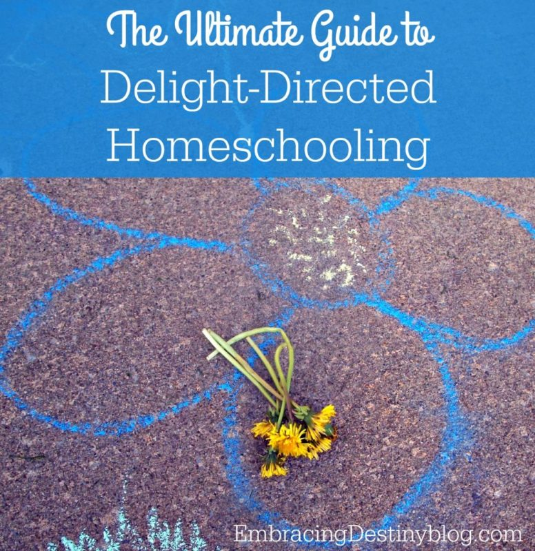 The Ultimate Guide to Delight-Directed Homeschooling