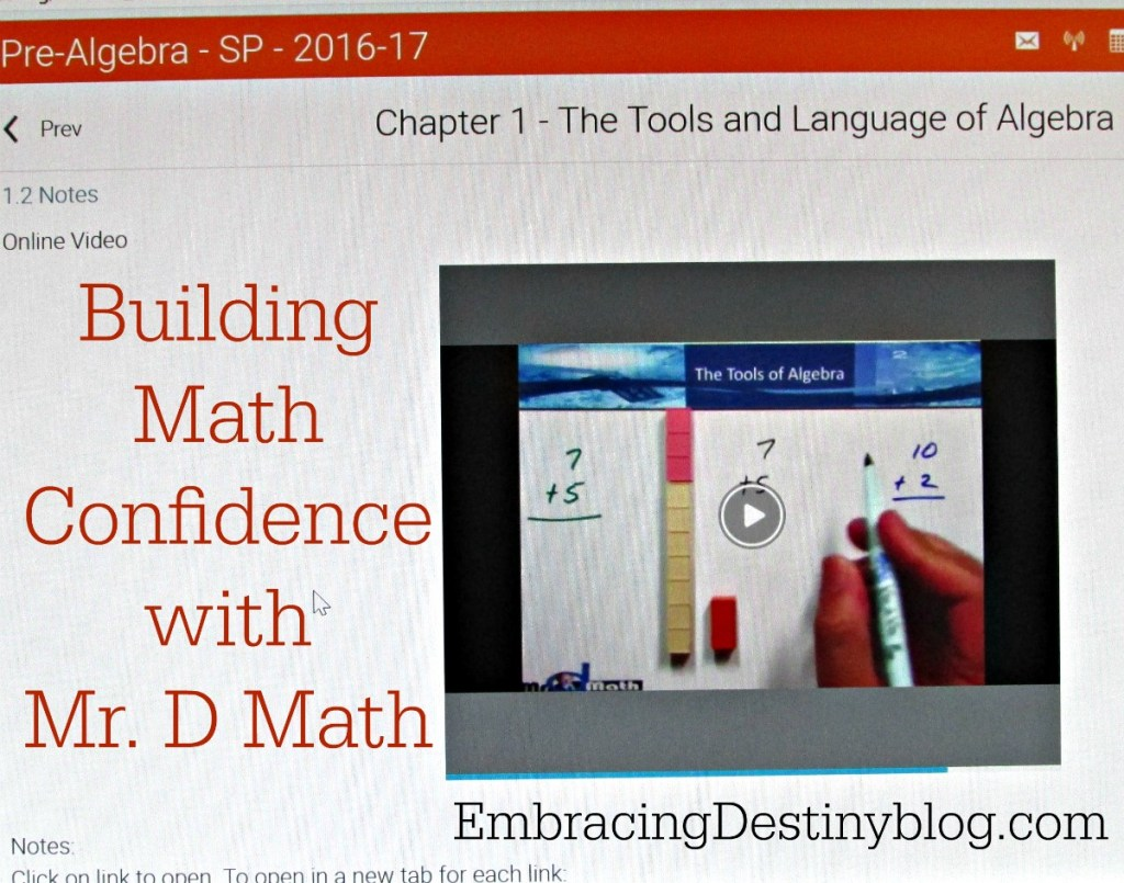 Mr D Math | homeschool math course | Pre-Algebra online math