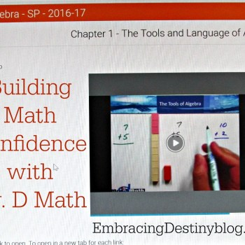 Building Math Confidence with Mr. D Math