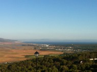 That land in the distance...Africa (Morocco to be exact)