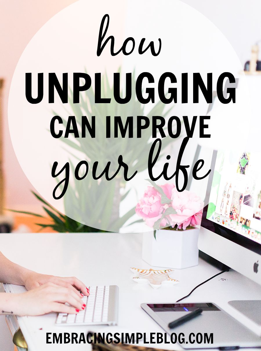 Image result for unplug your life