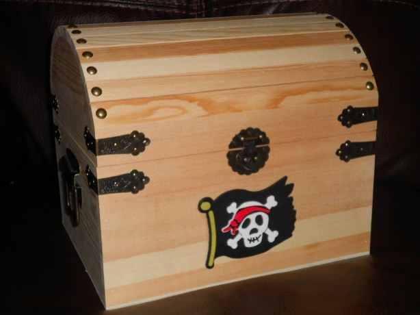 Wood Pirate Treasure Chest Plans Plans Diy How To Make