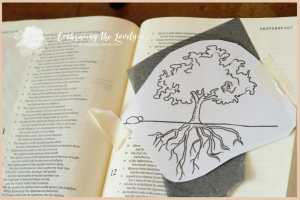 Do your roots run deep into the soil of God's Love and Mercy? Check out my latest Bible Journaling and encouragement!