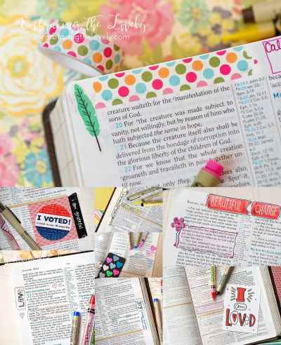 Why You Need to Micro Bible Journal in Your Bible With Embracing the Lovely