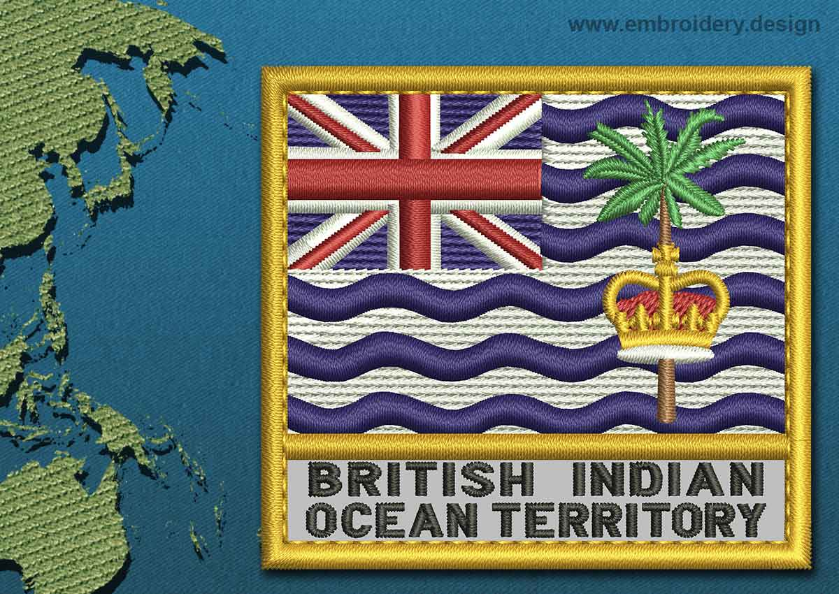 British Indian Ocean Territory Flag Coloring Pages