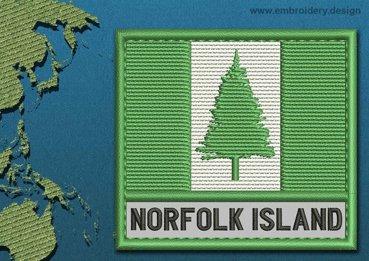 Norfolk Island Flag Coloring Pages