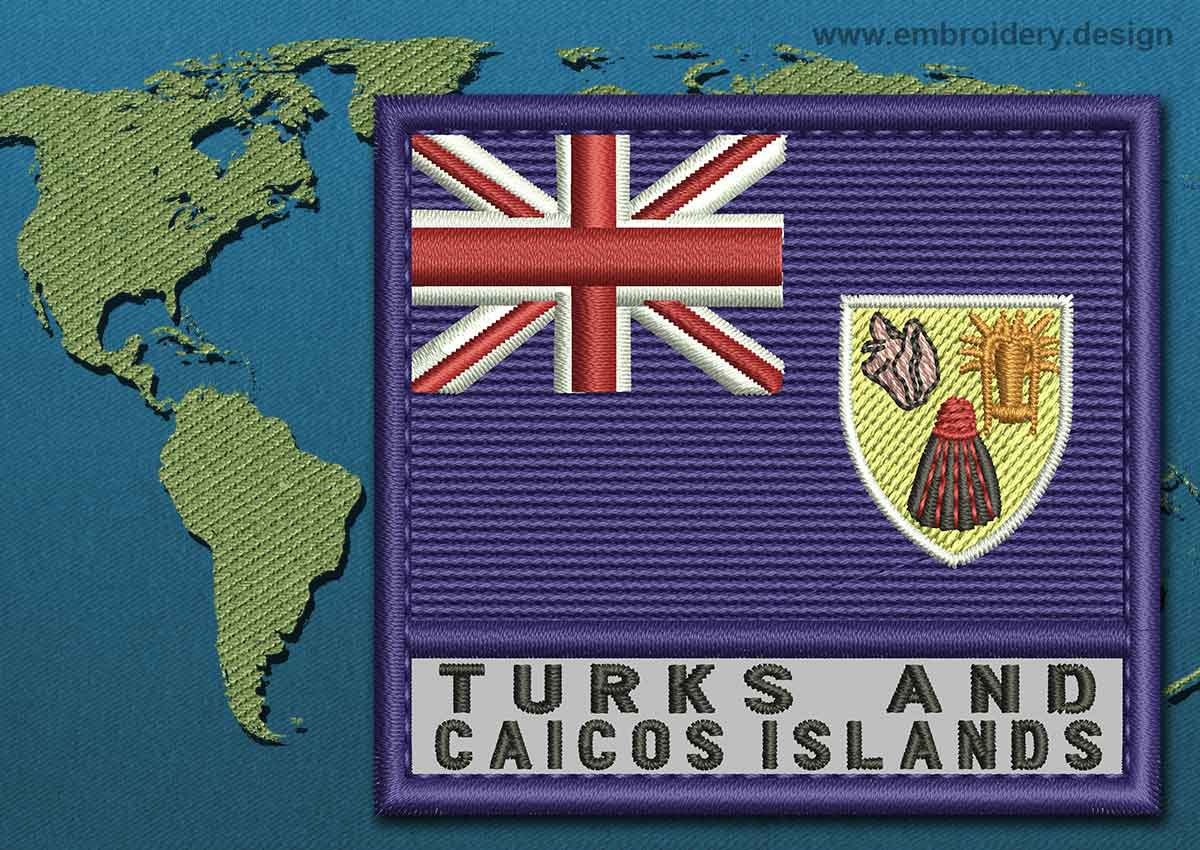 Turks And Caicos Islands Flag Coloring Pages