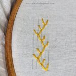 double feather stitch