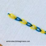 magic chain stitch
