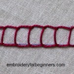 open chain stitch