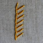 single feather stitch