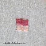 roumanian couching stitch