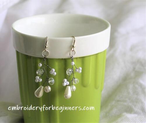Diy Bridal Pearl Earrings Step By Step Video