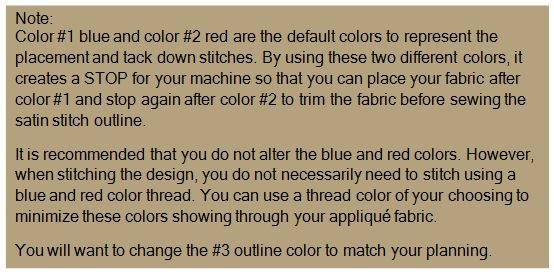 note changing colors